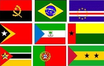 Portuguese Speaking Country Flags