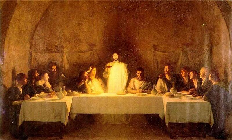 The Last Supper, an 1896 work by Pascal Dagnan-Bouveret.
