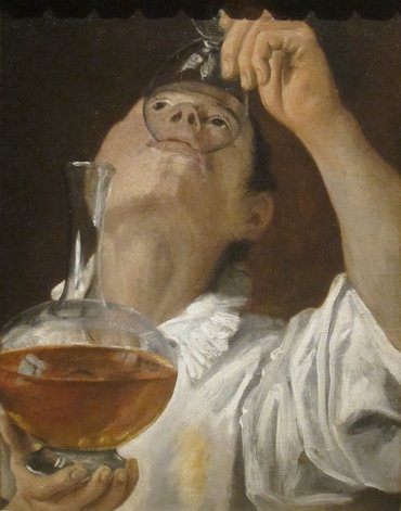"""Boy Drinking"" by Annibale Carracci"