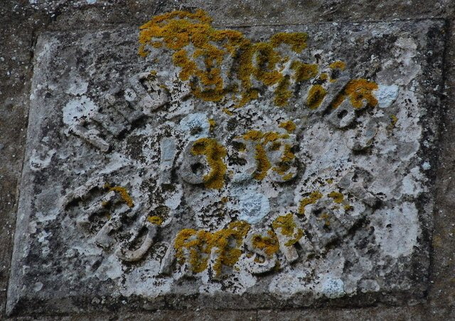 This inscription is on a stone at the church hall in South Ronaldsey, in the Orkneys, northeast of Scotland.