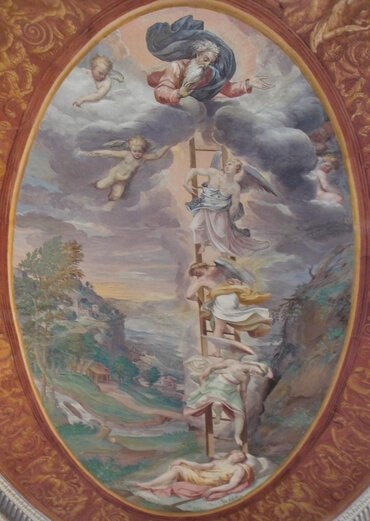 Fresco depicting Jacob's Dream in Palazzo Farnese, Caprarola