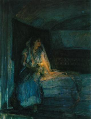 Mary, By Henry Ossawa Tanner - http://www.classicartrepro.com/artistsb.iml?artist=427, Public Domain, https://commons.wikimedia.org/w/index.php?curid=4864395