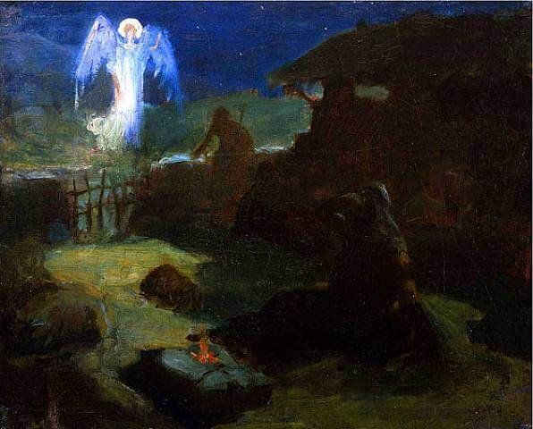 The Annunciation to the Shepherds, By Henry Ossawa Tanner