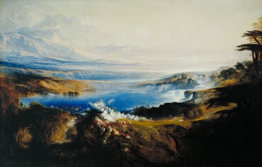 The Plains of Heaven, by John Martin