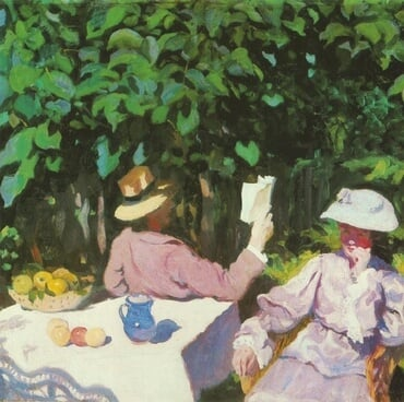 Morning Sunshine, by Károly Ferenczy