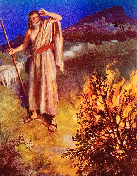 Bijbelverhalen uitleg: The Burning Bush (English: King James Version)