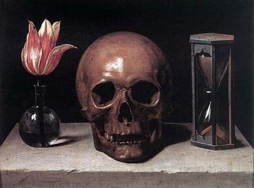 Still-Life with a Skull, by Philippe de Champaigne