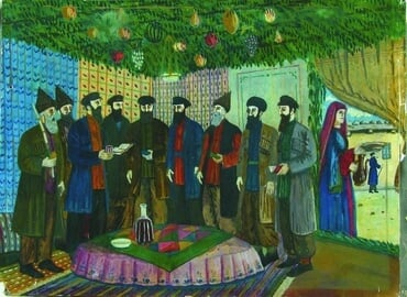 Feast of Sukkot prayers, by Shalom Koboshvili