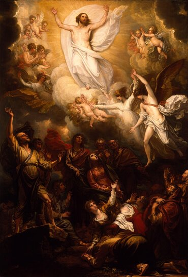 The Ascension, by Benjamin West